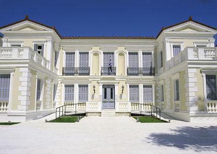 Το κτήριο της Εθνικής Πινακοθήκης στο Ναύπλιο